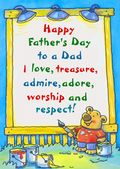 Father's Day Card-Father's Day Sign